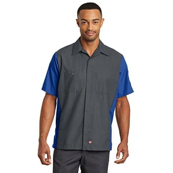 Red Kap ®  Short Sleeve Ripstop Crew Shirt. SY20