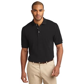 Port Authority ®  Tall Heavyweight Cotton Pique Polo.  TLK420