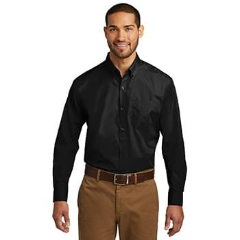 Port Authority ®  Tall Long Sleeve Carefree Poplin Shirt. TW100