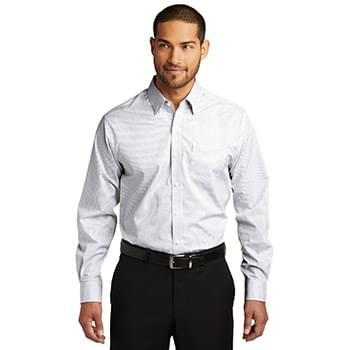 Port Authority ®  Micro Tattersall Easy Care Shirt. W643