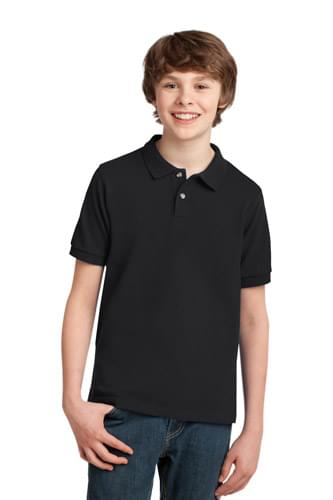 Port Authority ®  Youth Heavyweight Cotton Pique Polo. Y420