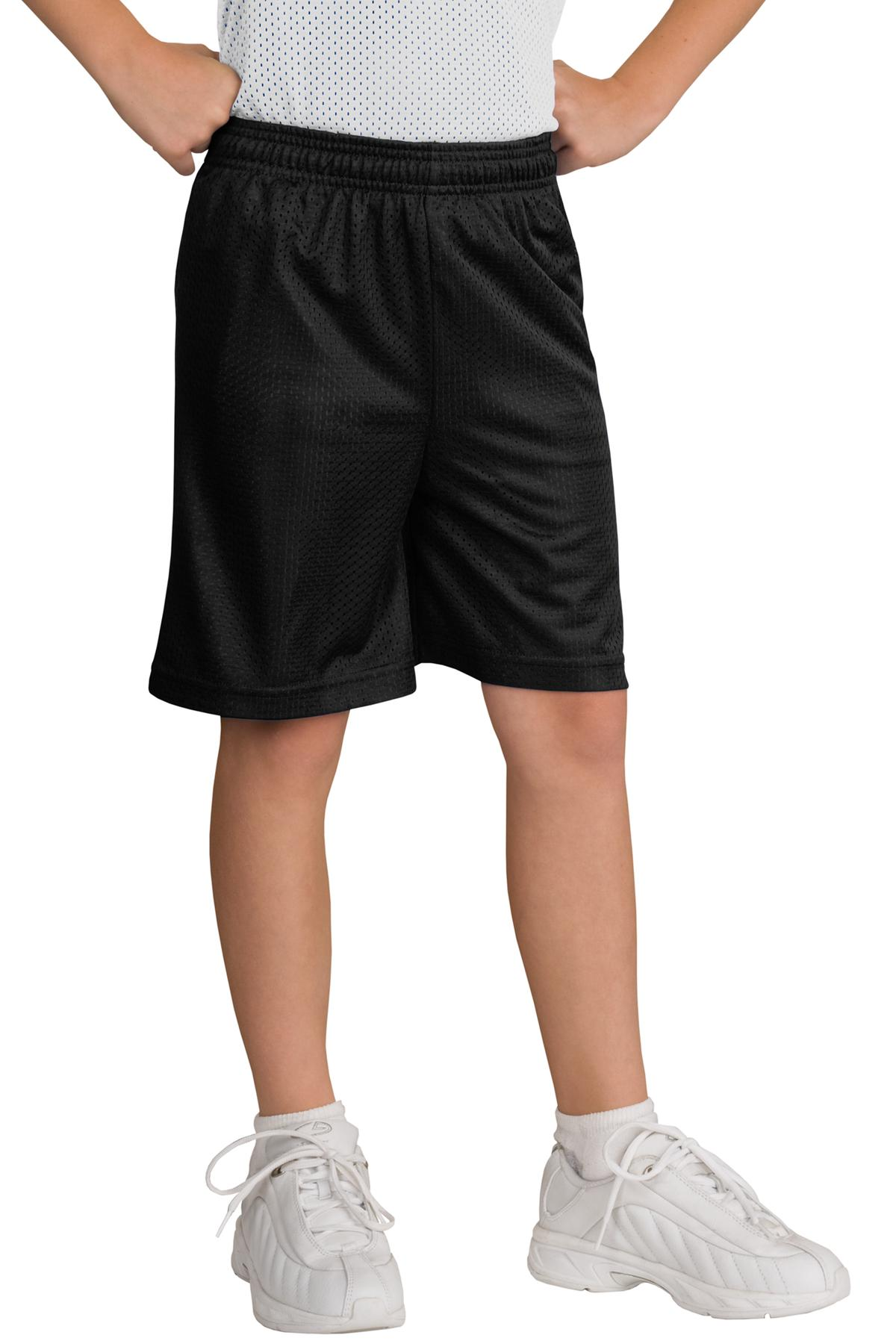 Sport-Tek ®  Youth PosiCharge ®  Classic Mesh Short. YST510