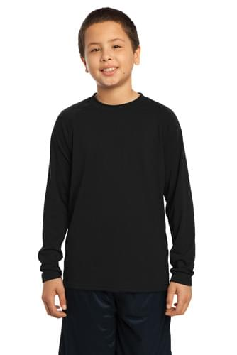 Sport-Tek ®  Youth Long Sleeve Ultimate Performance Crew. YST700LS