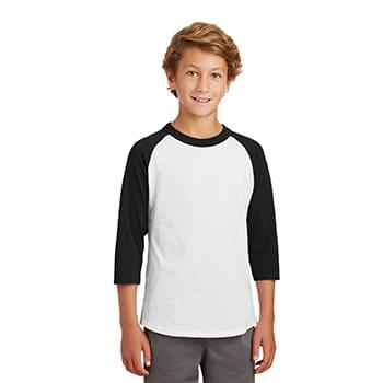 Sport-Tek ®  Youth Colorblock Raglan Jersey.  YT200